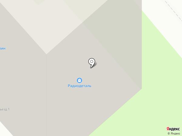Открытие на карте Вологды