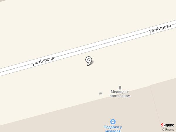 Ecco на карте Ярославля