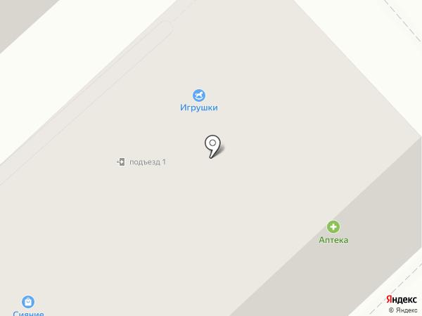 Лаури на карте Вологды