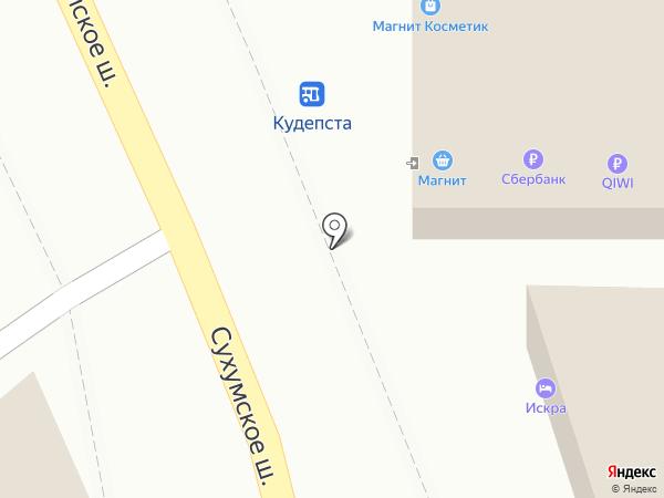Обновка на карте Сочи