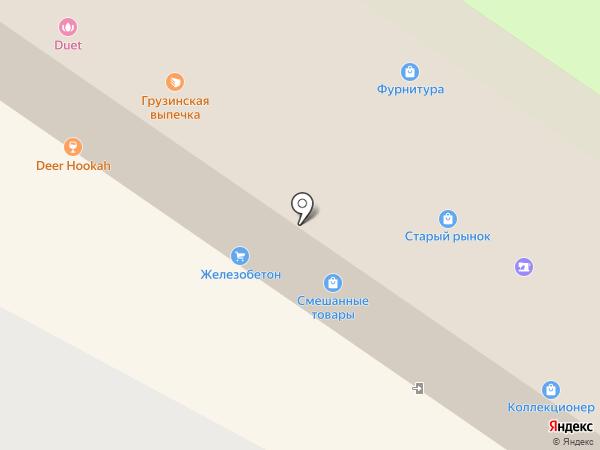 Образ на карте Вологды