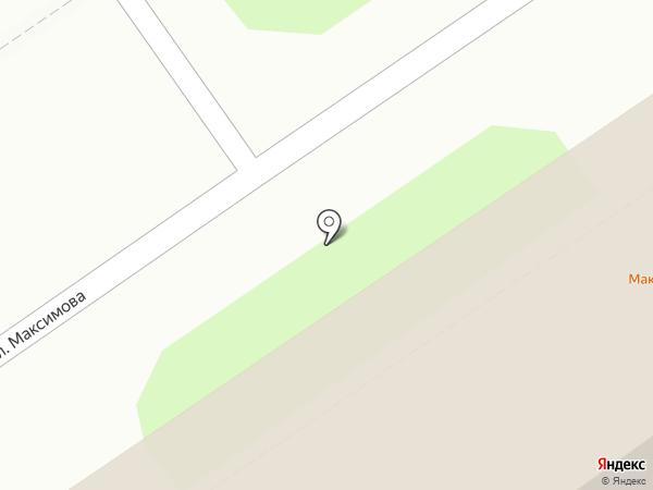 Максимов Дым на карте Ярославля
