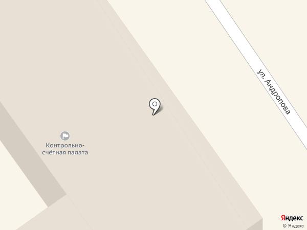 Комитет по рекламе, наружной информации и оформлению города Мэрии г. Ярославля на карте Ярославля