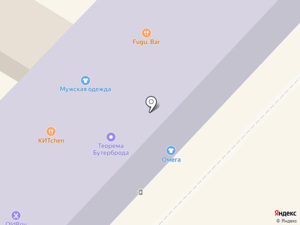 Магазин женской одежды на карте Вологды
