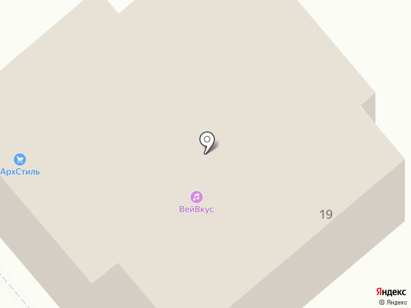 КБЦ на карте Вологды