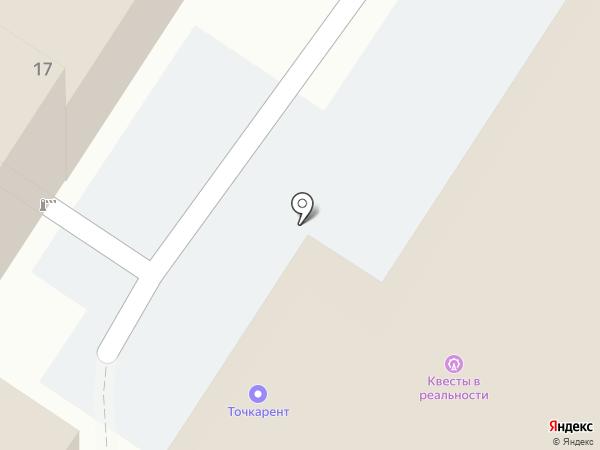 Клетка на карте Ярославля