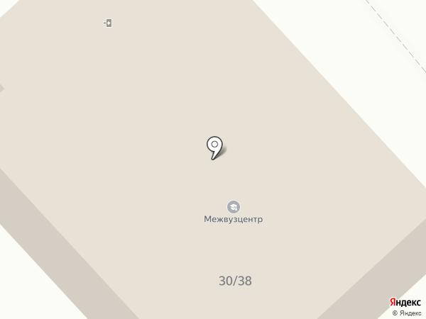 МГИУ на карте Вологды