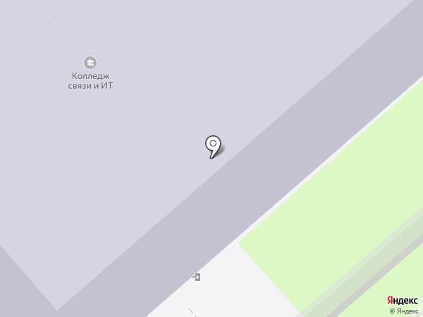 Вологодский колледж связи и информационных технологий на карте Вологды
