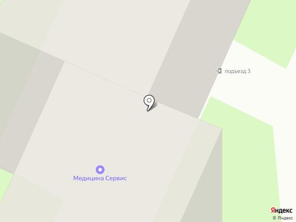 Пожмаркет на карте Вологды