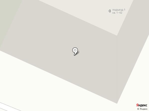 Мирный Воин на карте Вологды