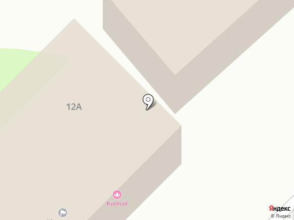 Бетонит на карте Вологды