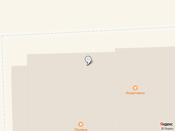 Поляна на карте Вологды