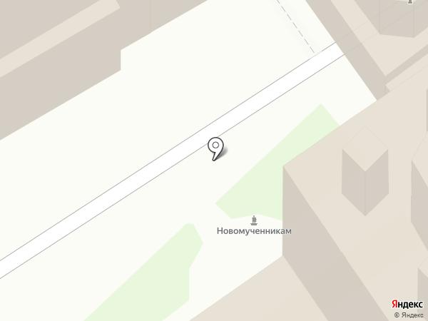 Монастырская трапезная на карте Ярославля