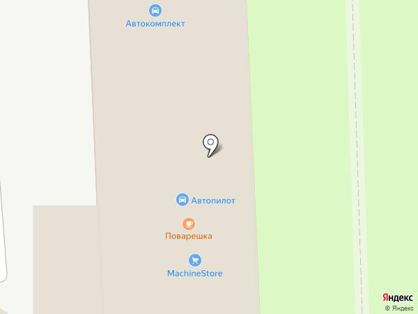 АПлайн на карте Вологды