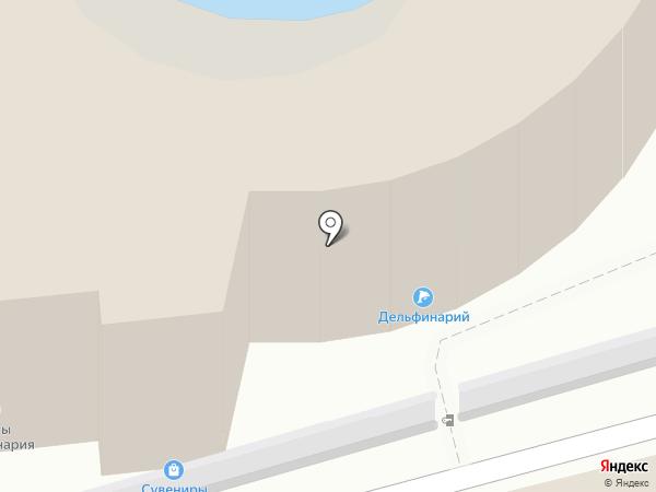 Утришский дельфинарий на карте Сочи