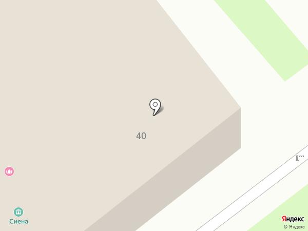Вологодское на карте Вологды