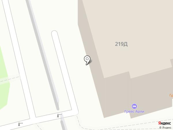 Арли на карте Сочи