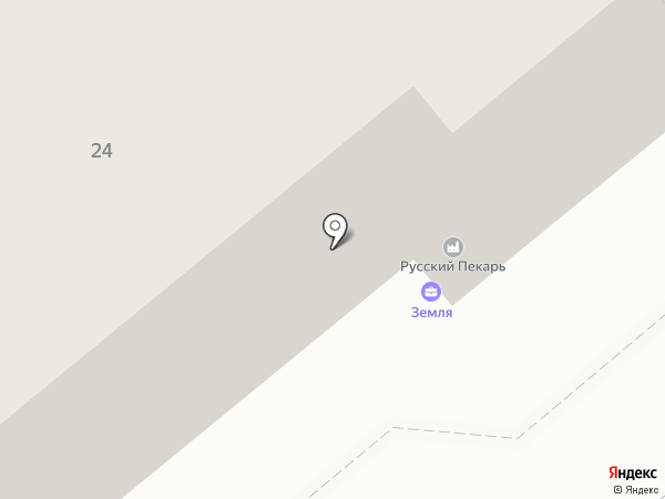 Анкор на карте Вологды