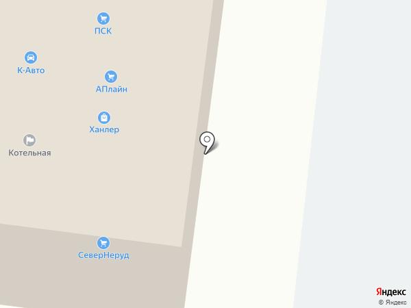 СТЭН на карте Вологды
