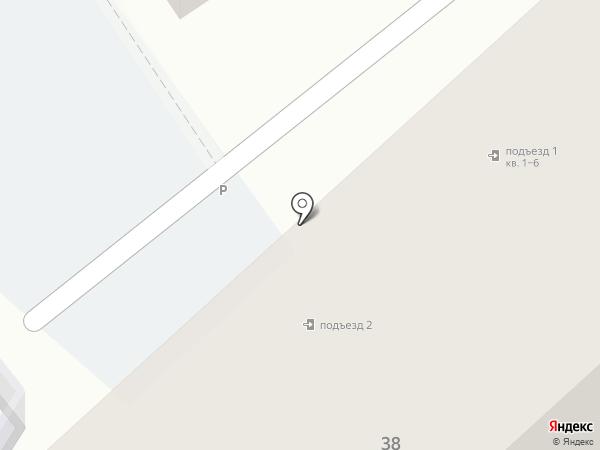 Квартал на Большой Луговой на карте Ярославля