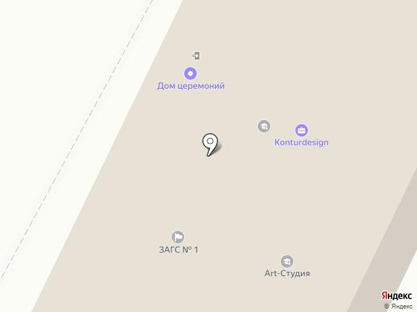 Отдел ЗАГС по г. Вологде и Вологодскому району на карте Вологды