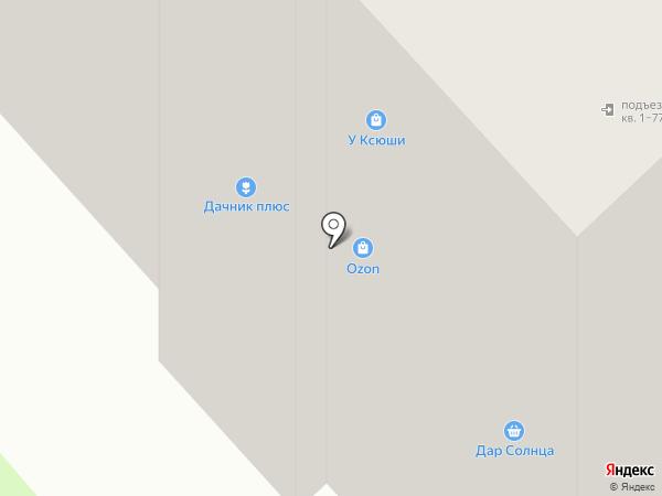 Тандем-Авто на карте Вологды