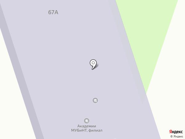 МУБиНТ на карте Вологды