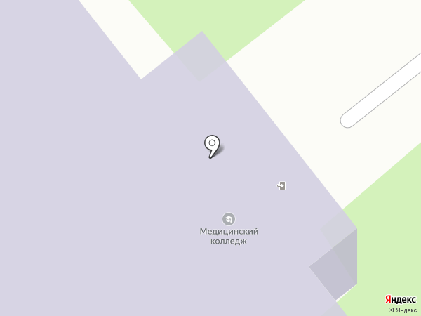 Вологодский областной медицинский колледж на карте Вологды
