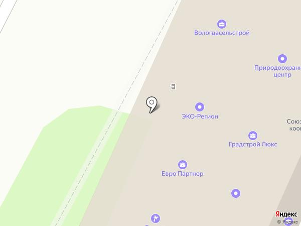 Ювелирно-художественная мастерская на карте Вологды