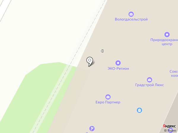 СтройКомплекс на карте Вологды