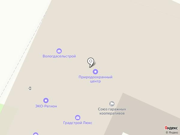 Северо-Запад на карте Вологды