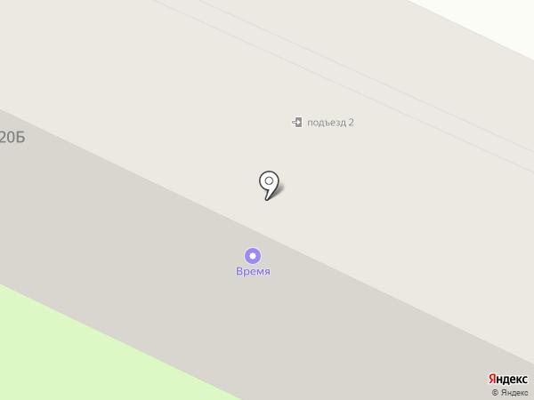 Время на карте Вологды
