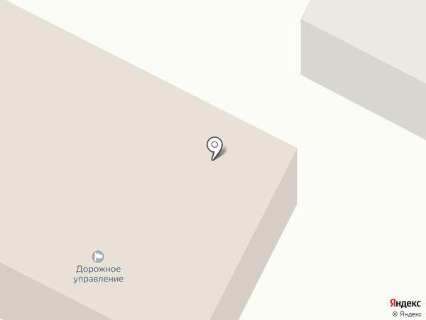 Дорожное управление на карте Вологды