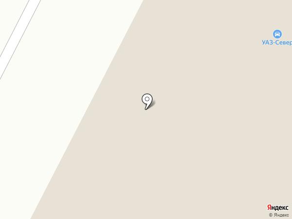АвтоцентрУАЗ Вологда на карте Вологды