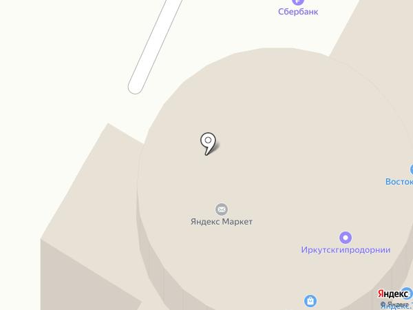 Череповец-Восток-Сервис на карте Вологды