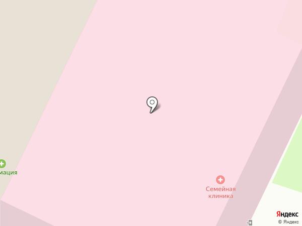 Семейная клиника №1 на карте Вологды