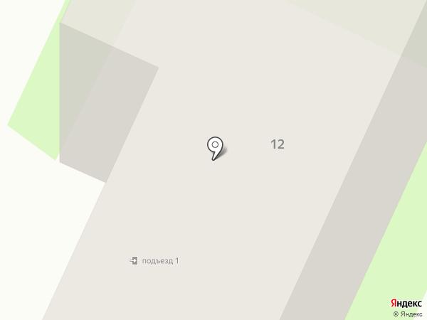 Удав на карте Вологды