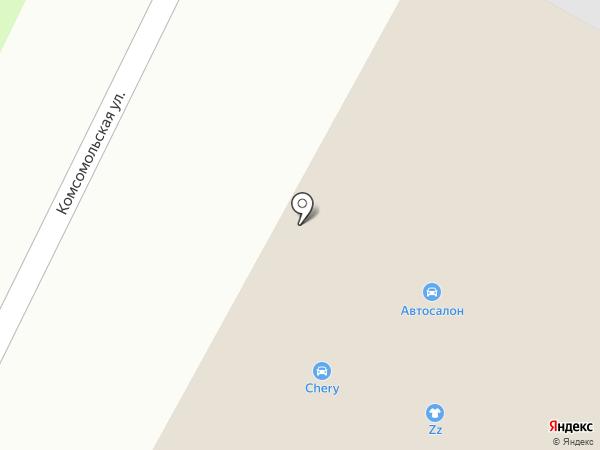 Север-Авто на карте Вологды