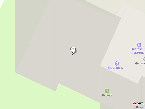 Банкомат, Банк Северный КРЕДИТ на карте Вологды
