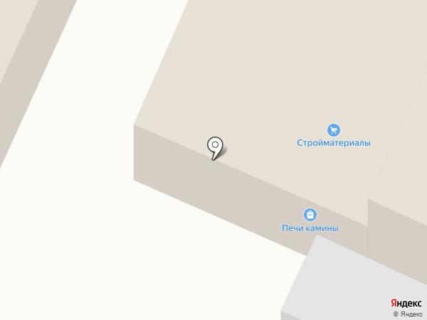 Магазин строительных и хозяйственных товаров на карте Вологды