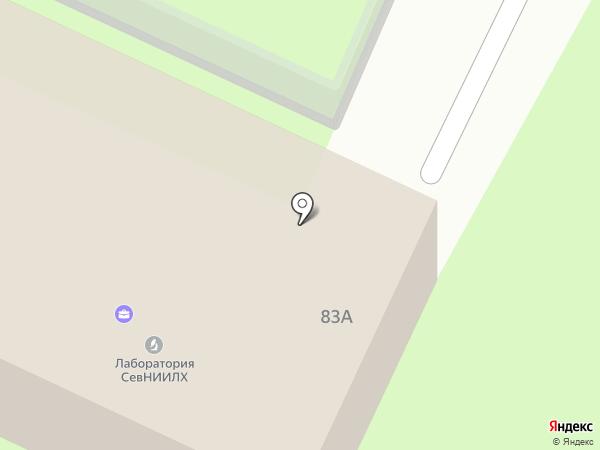 Вологодская лесосеменная станция на карте Вологды