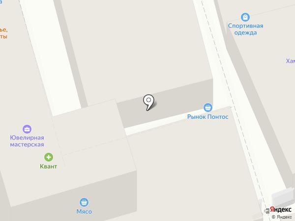 Магазин колбасных изделий на карте Сочи
