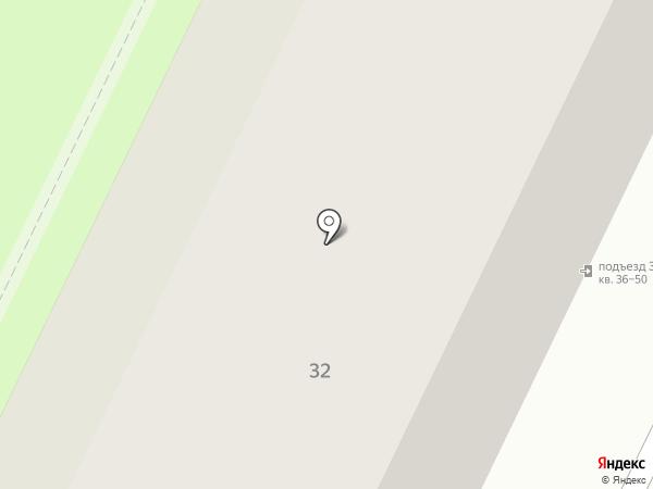 Домашняя курочка на карте Вологды