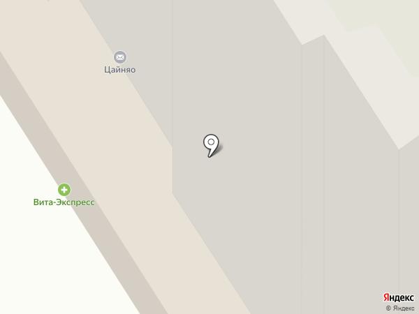 Степанов на карте Ярославля