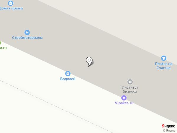 Вологодский институт бизнеса на карте Вологды