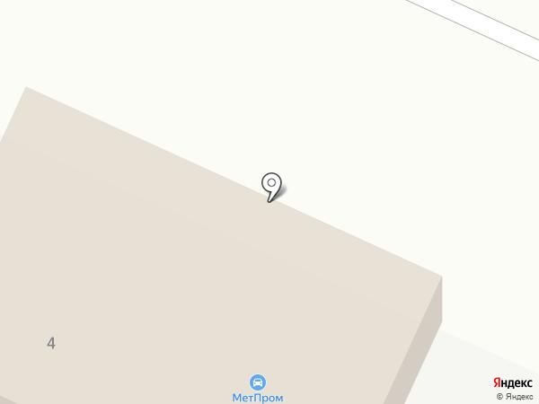 Ярдормост на карте Кузнечихи