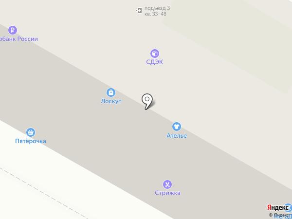 Пятерочка на карте Вологды