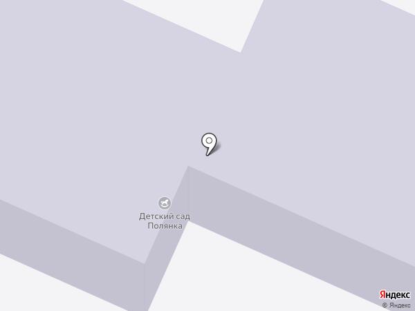 Детский сад №105, Полянка на карте Вологды