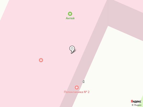 Вологодская городская поликлиника №2 на карте Вологды