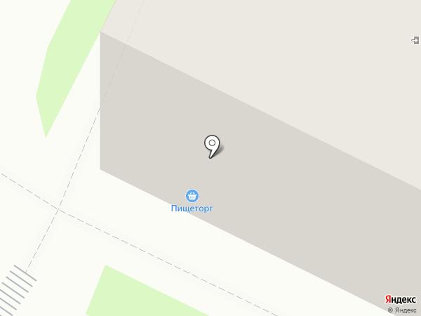 Никольская вода на карте Вологды